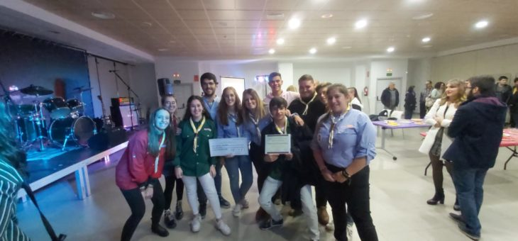 Tercer premio «Consejoven» para el grupo Scout San Pedro