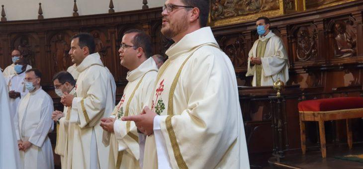 Iván ha sido ordenado diácono